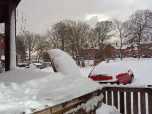Photo from crippling heavy snow February 2010